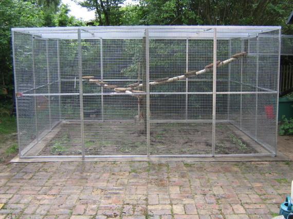 Katzengehege Bauen volierenbau mönning voliere käfig gehege volierenbau volierenelement